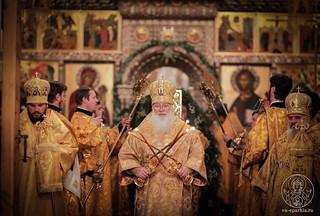 Великая вечерня в Иверском монастыре 220