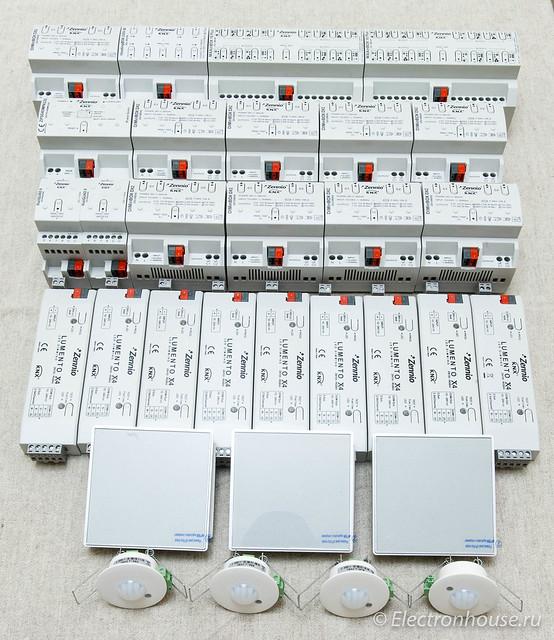 KNX equipment Zennio