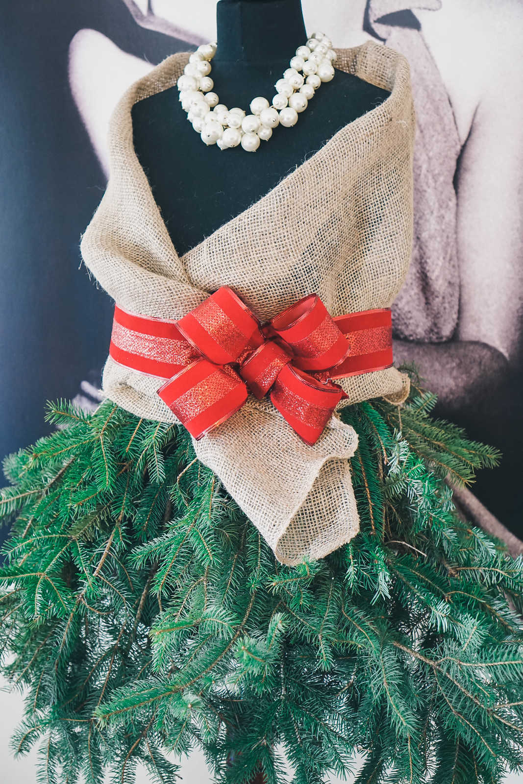 DIY Mannequin Christmas Tree | How to Make a Mannequin Christmas Tree | DIY Christmas Decorations | Christmas Decor | Holiday Decorations | Shabby Chic Christmas