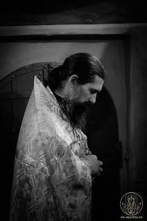 Великая вечерня в Иверском монастыре 305