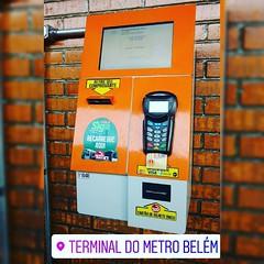 Agora tem máquina automática de recarga do #BilheteUnico nos terminais de ônibus :oncoming_bus: Até que enfim @sptrans, na torcida que o serviço já esteja disponível em todos os terminais #MobilidadeSampa #sptrans #transportePublico #TransportePublicoSP