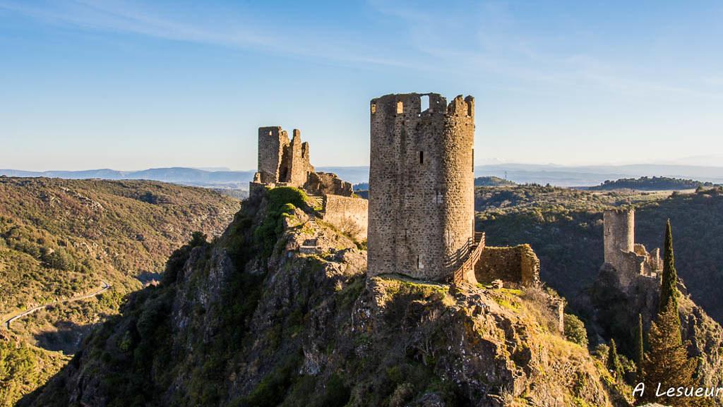 Châteaux de Lastours (Aude) - Castles of Lastours -