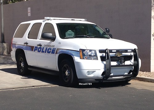 Chandler Arizona Police 2013 Chevy Tahoe Photo