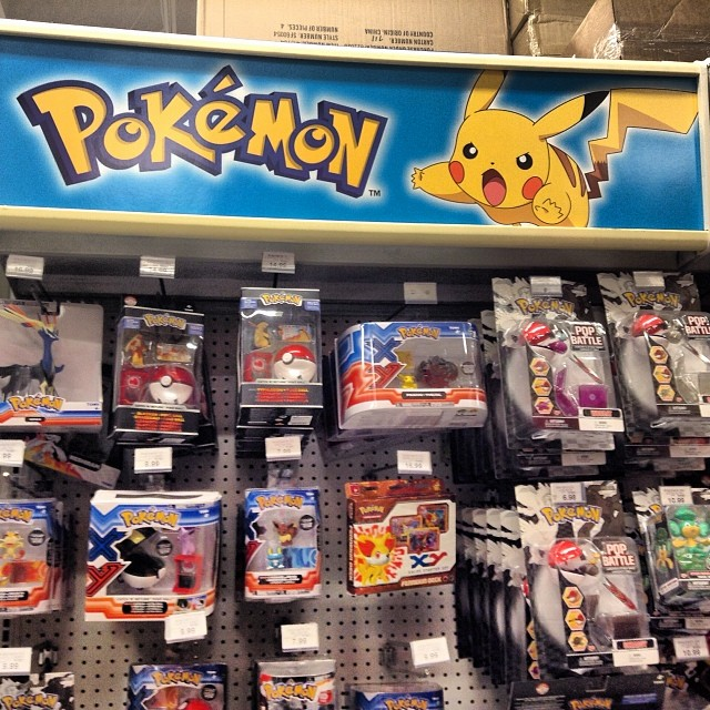 Over standing Variety of Pokémon Toys at Toys R Us even af ...