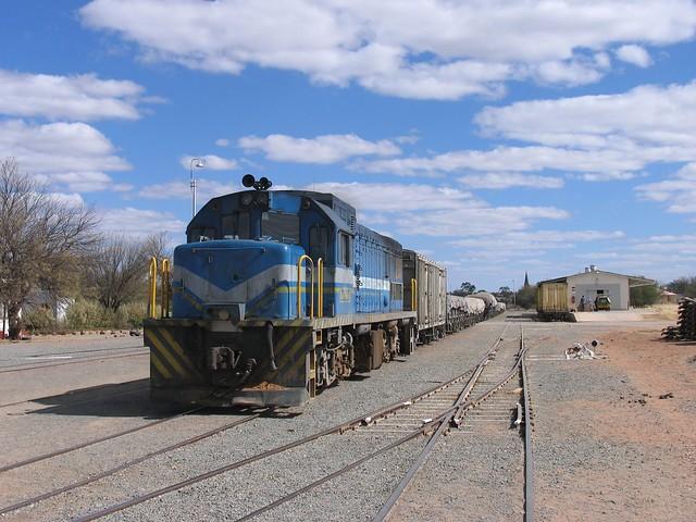 Loc 207 in Gobabis (Namibië) op 7-7-2010