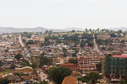 uganda mosque gaddafi minaret kampala landscape