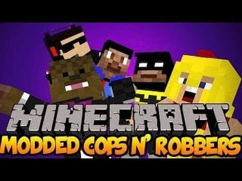 Modded Minecraft: Cops N' Robbers: How To Escape Jurassic