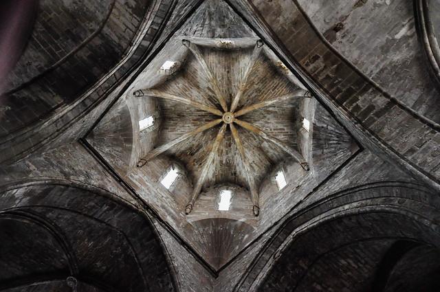 302 - Cimborrio Octogonal - Real Monasterio Santa María de Vallbona - Vallbona de les Monges - L' Urgell (Lleida) - Spain.