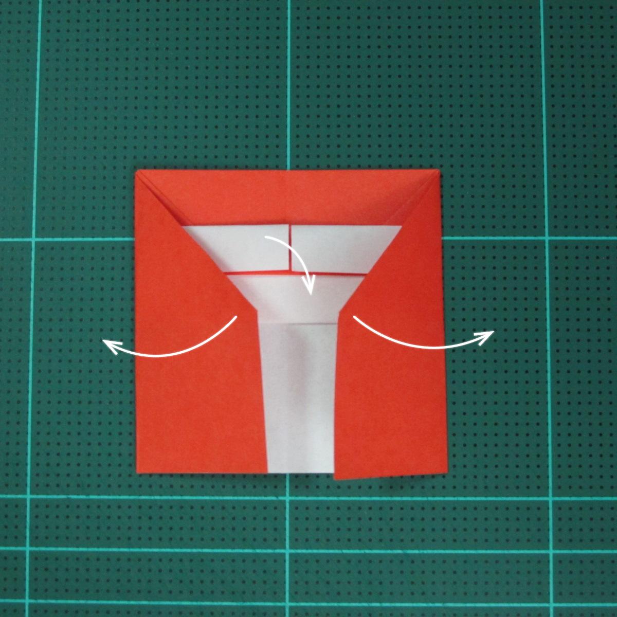 วิธีการพับกระดาษเป็นรูปเปียโน (Origami Piano) 011
