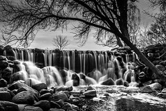Whitnall Waterfall in Spring
