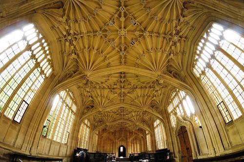 UK - Oxford - Bodleian Library - Divinity School fisheye 04_DSC3528