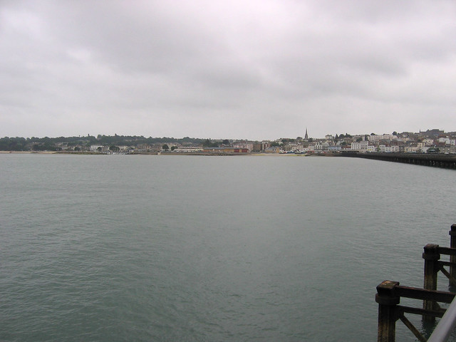 Ryde from Ryde Pier