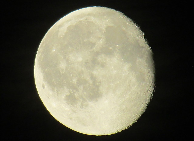 Moon just after the Solstice