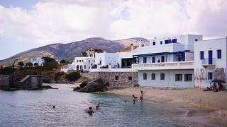 Enjoying the water in Moutsouna, Naxos | by brookscl
