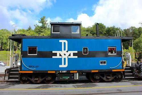 railroad train rail railway adirondacks caboose passenger adix adirondackscenicrailroad thendarany bmrr bostonmainerr adirondackscenicrr