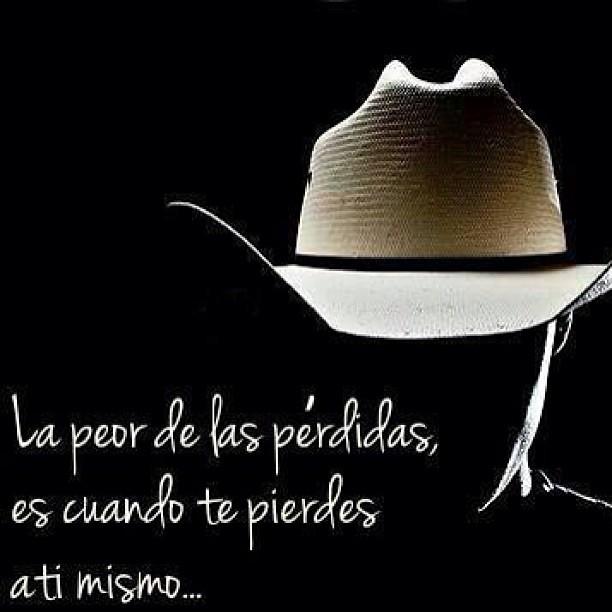 Vaquero Cowboy Frase Reflexión Reflexiona Lunes Ami