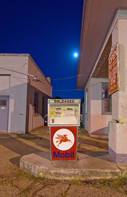 Moon Over Mobil