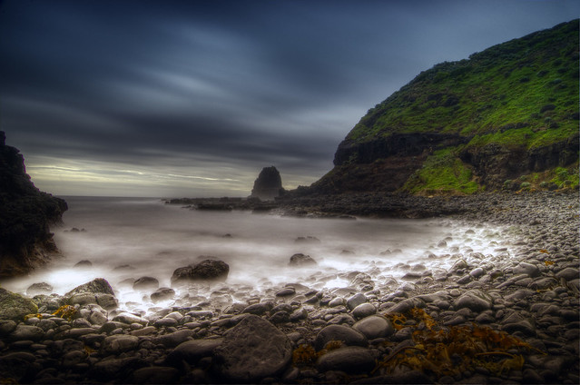 Storm over Pebble Beach at Cape Schanck