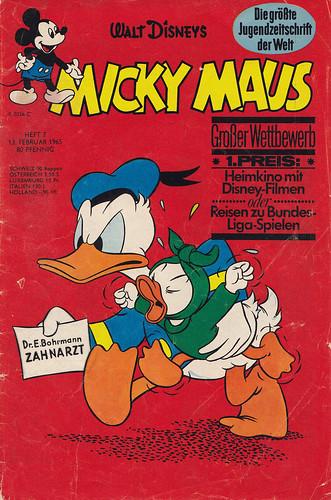 micky maus 71965  micky maus  heftreihe copyright