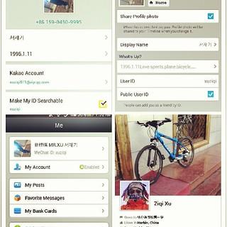 My kakao's ID:xuziqi  My Line's ID:xuziqi  My Wechat's ID …   Flickr