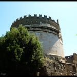 The mausoleum of Caecilia Metella