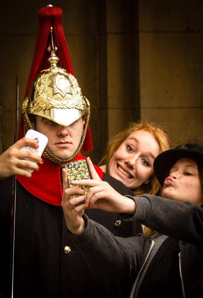 Guard Selfie