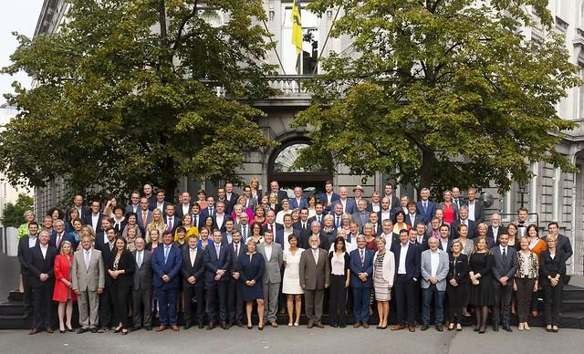 Groepsfoto's Vlaamse volksvertegenwoordigers