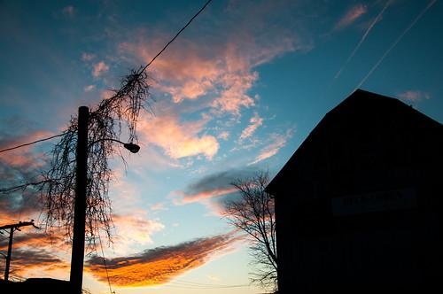 sunset clouds barn virginia nikon downtown charlottesville d300 1801050mmf3556 nikkorafsdx18105mmf3556edvr bobmical