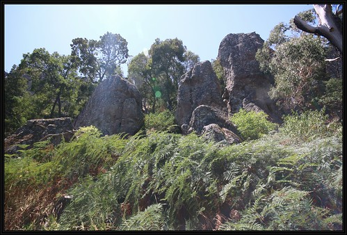 nationalpark rocks walk reserve australia victoria lookout hangingrick