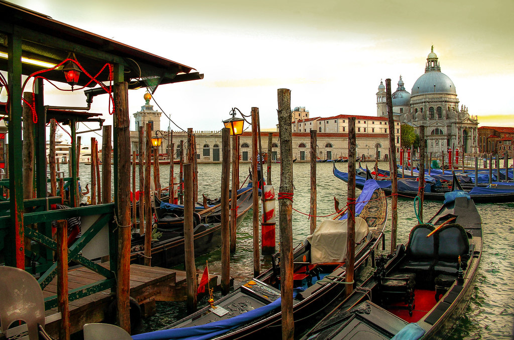 The Entrance to the Grand Canal,Venice