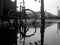 regenachtig Regentesseplein, Den Haag