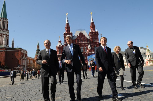 Secretary Kerry Tours Red Square | by U.S. Department of State