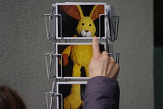 bunny postcards, Berlin