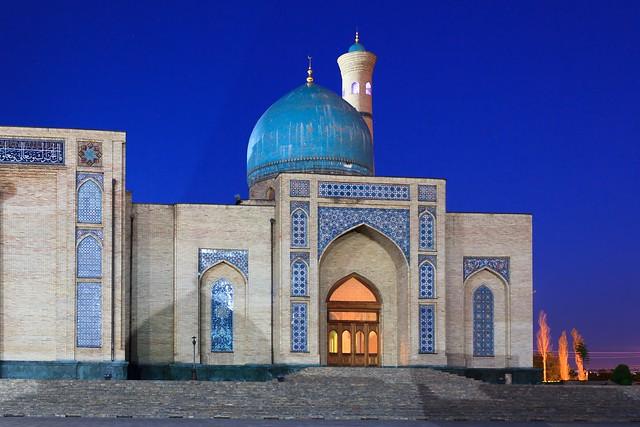 Tashkent twilight, Uzbekistan (Khast Imam)