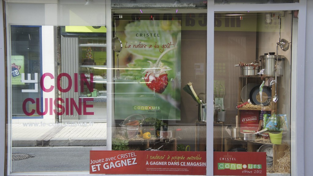 Le Coin Cuisine Dieppe Concours Vitrine Cristel 2012 Flickr