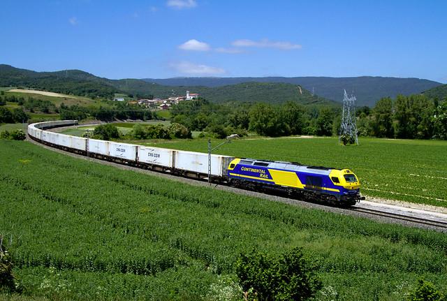 Frutero de Continental Rail por Pobes