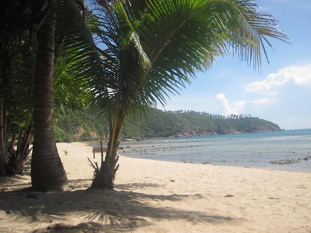 Phangan Mae Haad beach