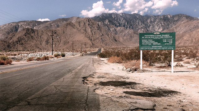 Tramway Road, Agua Caliente Indian Reservation - Palm Springs, California