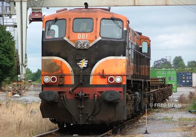 Irish Rail 081 in North Esk.