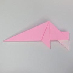 สอนการพับกระดาษเป็นลูกสุนัขชเนาเซอร์ (Origami Schnauzer Puppy) 045