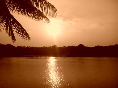 sunset lake lalbagh barandur flickrandroidapp:filter=none gionee gioneeg3