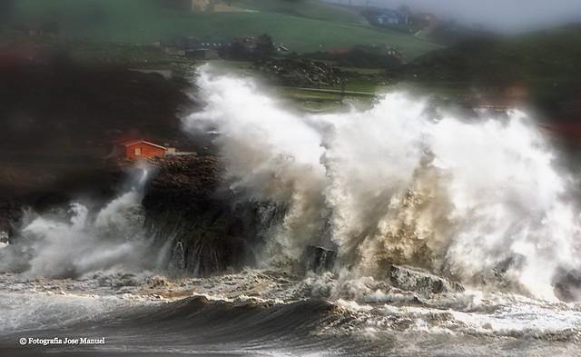 Suances-Cantabria   Contra la costa