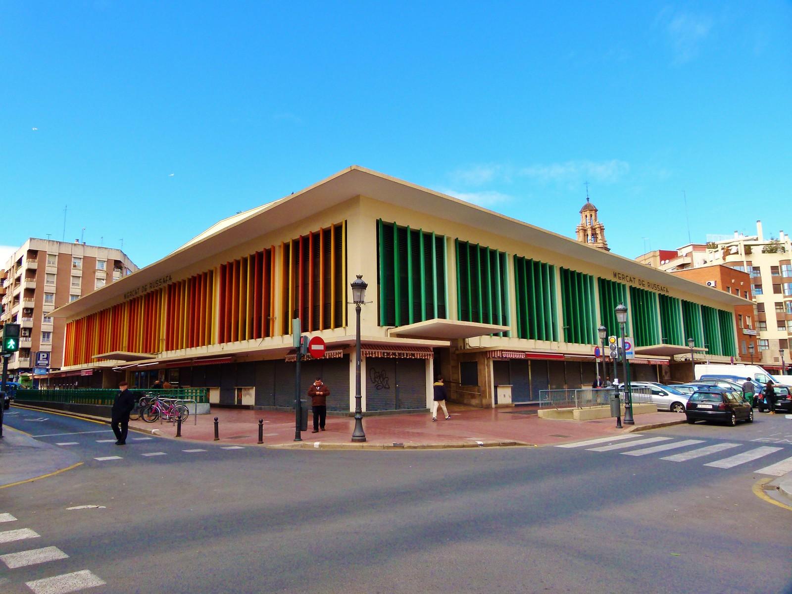 Mercado municipal de Ruzafa - Valencia