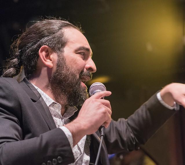 CMQ Big Band at Bogui Madrid - Alain Pérez (vocal)