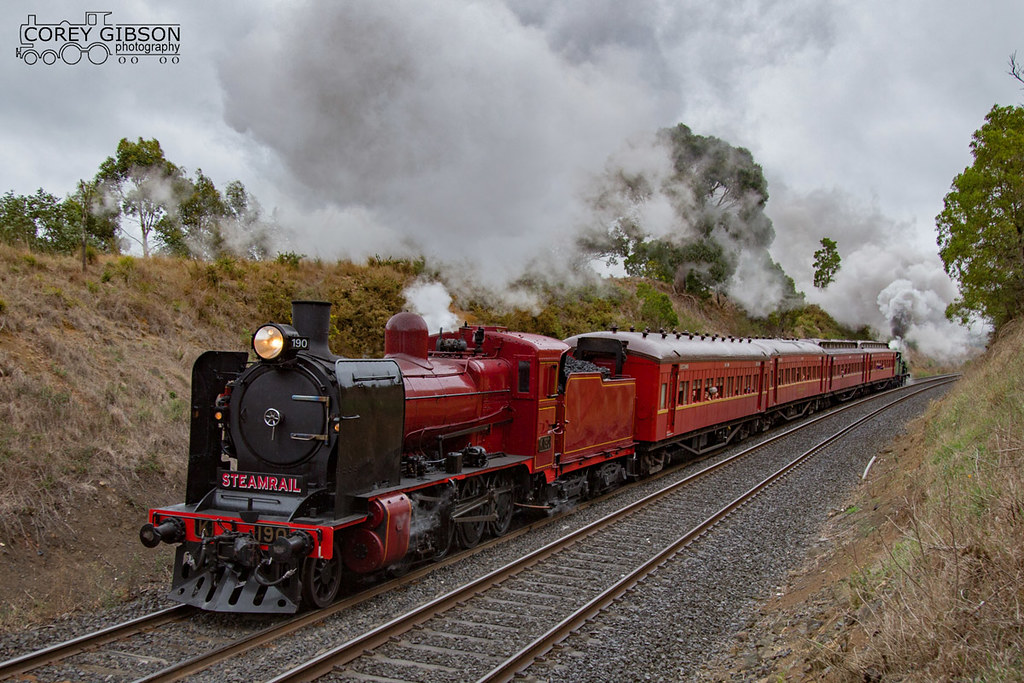 Steamrail Ballarat Heritage Weekend by Corey Gibson