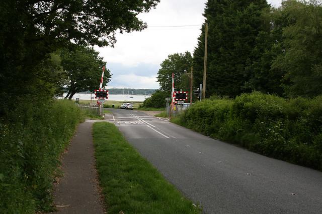 Approaching Southampton Water in Hythe