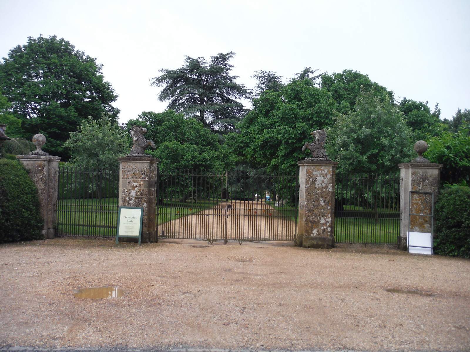 Old Entrance to Mottisfont Abbey SWC Walk 265 - Dean to Mottisfont and Dunbridge