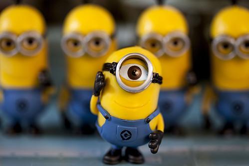 One Eyed Minion | by avrene