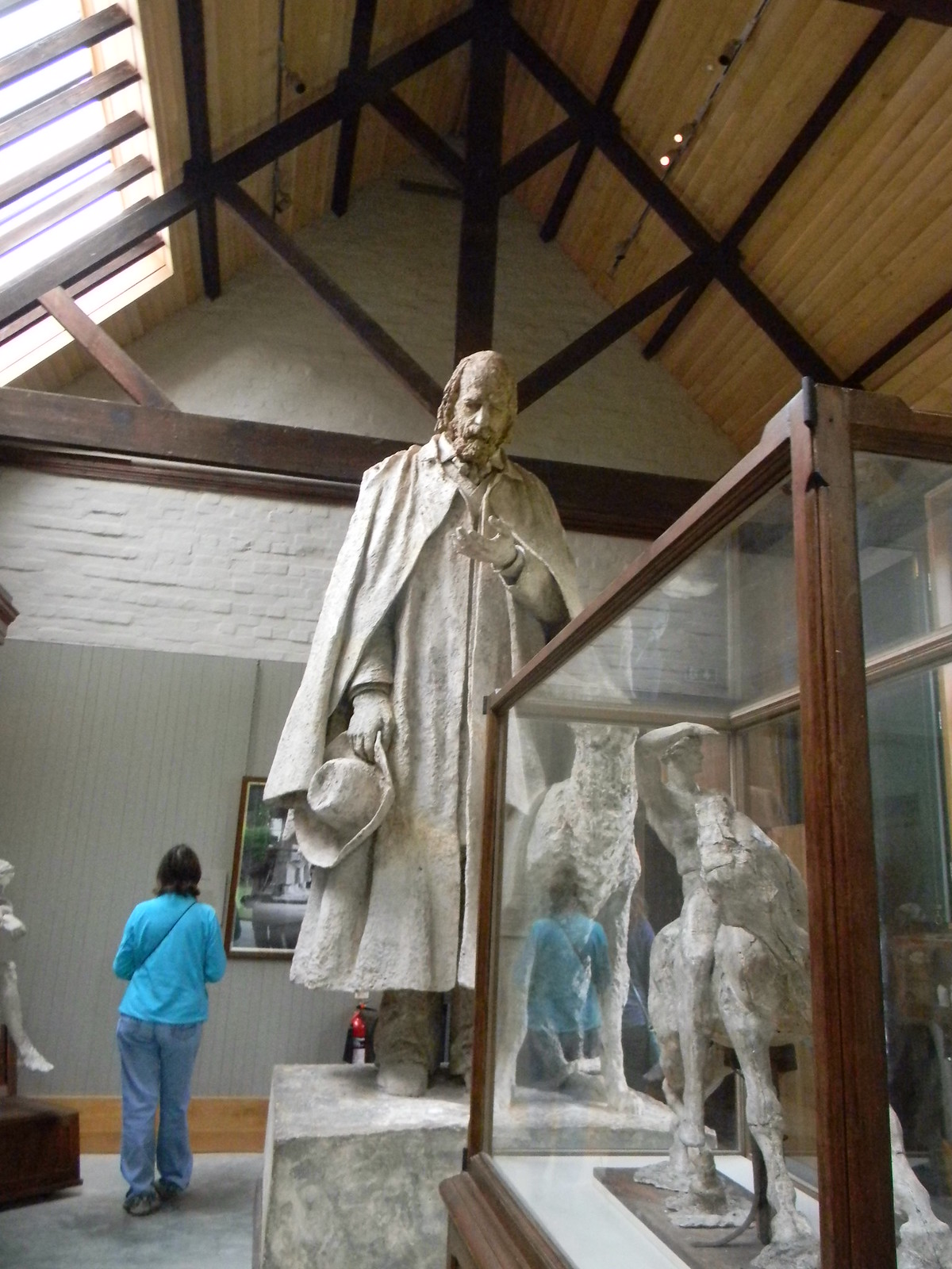 Anyone for Tennyson Sculpture, Watts Gallery Guildford Circular