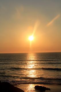 Sunset Over the Atlantic   by bobbiklein